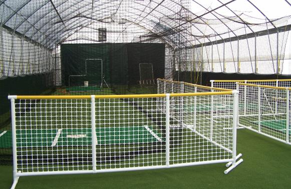 inside view of the baseball softball indoor facility